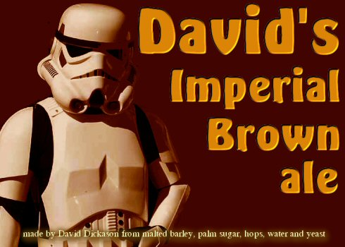 Imperial Brown label